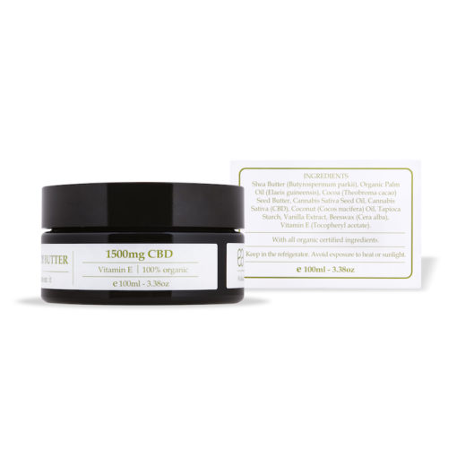 CBD Body butter endoca 5