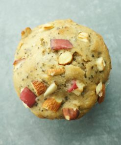 Vegan Muffin - Apple & Earl Grey Tea by HealthyTOKYO Japan