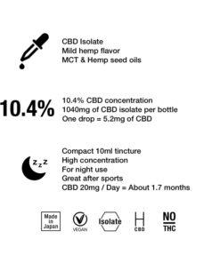 cbdtokyo isolate cbd 10.4