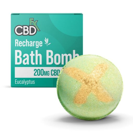 cbd bath bomb recharge 200mg