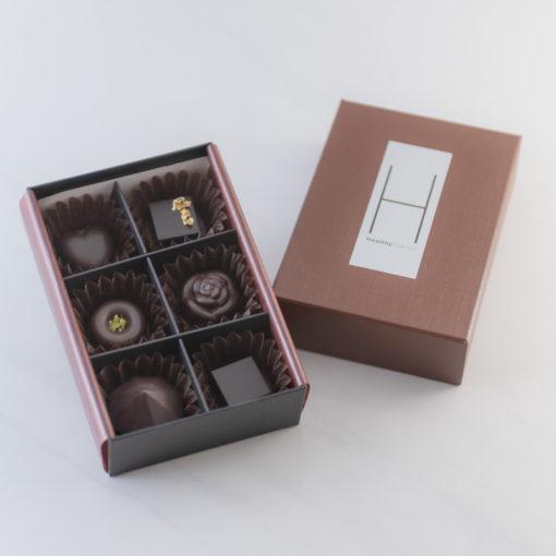CBD チョコレート ヴィーガン 6個入り(1箱)