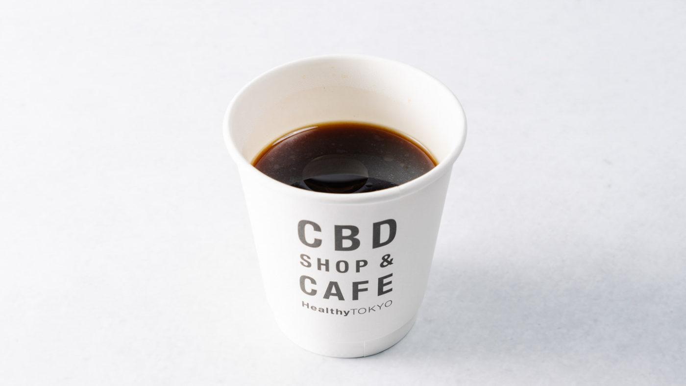 cbd coffee by HealthyTOKYO in Daikanyama