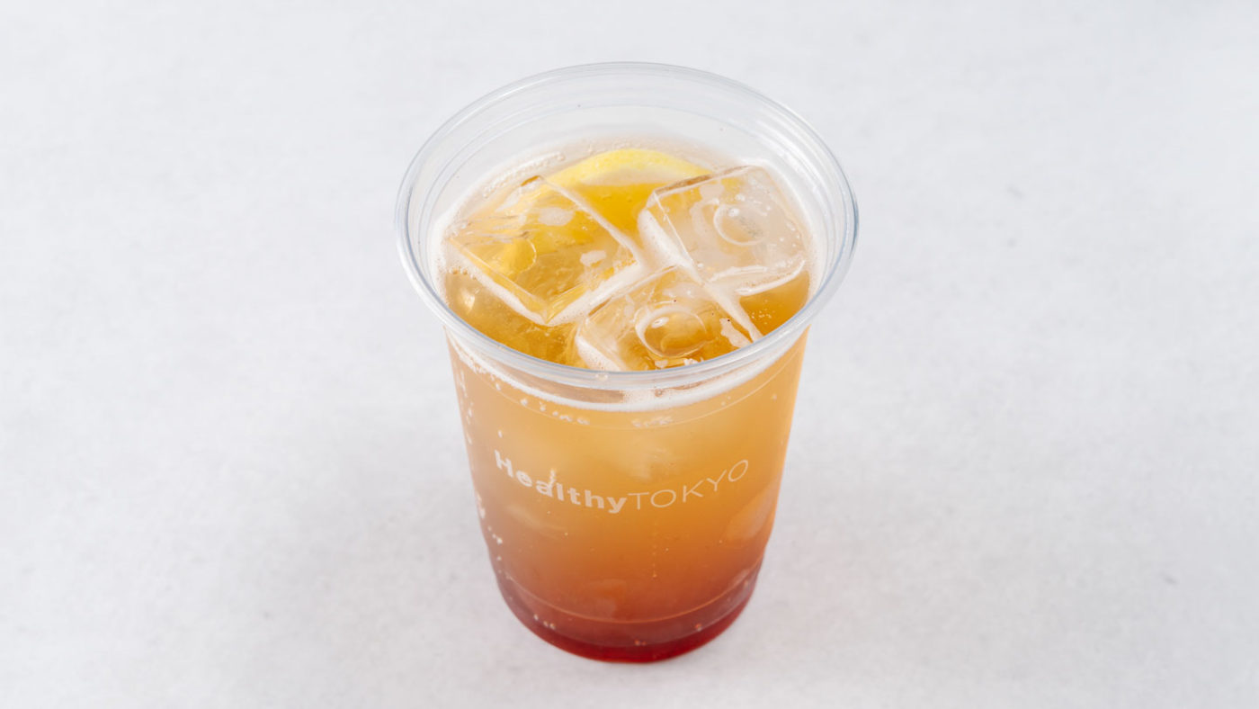 cbd soft drink by HealthyTOKYO in Daikanyama