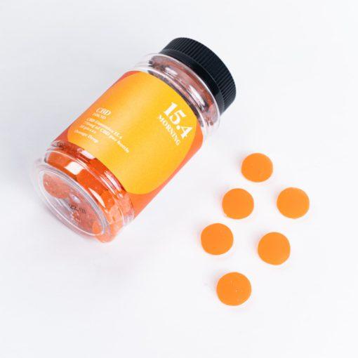 CBD Morning Gummies CBDTokyo orange drops top