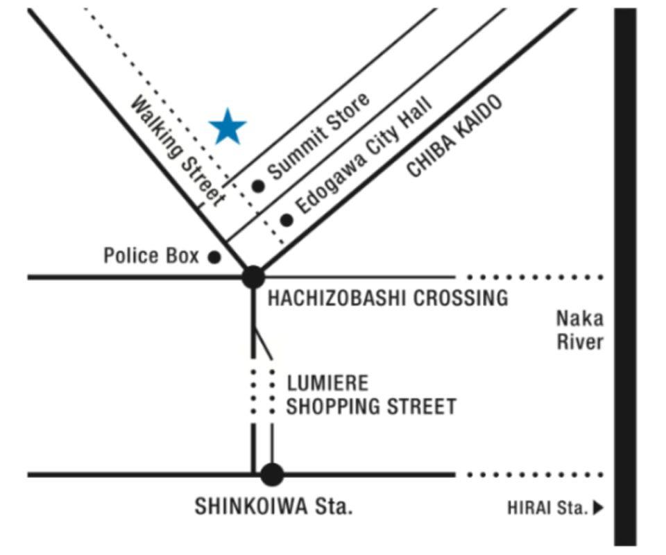 healthytokyo cbd factory and cafe edogawa access